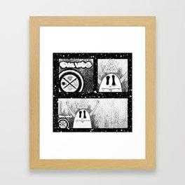 Ghosty Framed Art Print