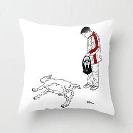 Danger Kids: Myetonic Millie Throw Pillow