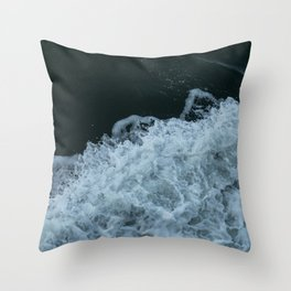 The Ferry to Naoshima Throw Pillow