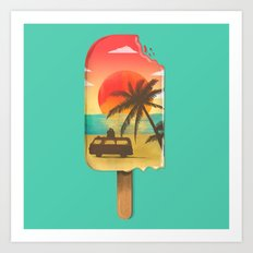 Vacation Time Art Print
