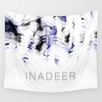 native Wall Tapestries featuring NATIVE by Inadeer