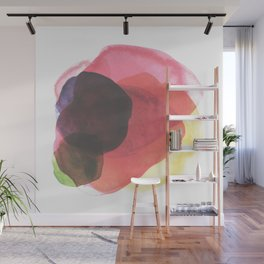 Rainbow Watercolor Immersion Wall Mural