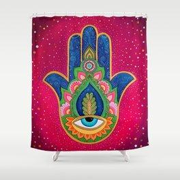 Fatima's hand / Hamsa Shower Curtain