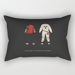 Back to the Future Rectangular Pillow
