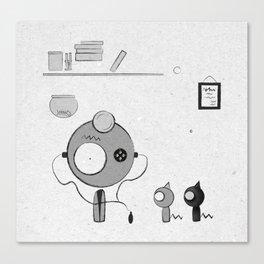 Doctor Canvas Print
