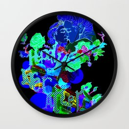 HAPPILY EVER AFTER Wall Clock