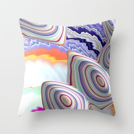 Wonka's Candy Store Throw Pillow