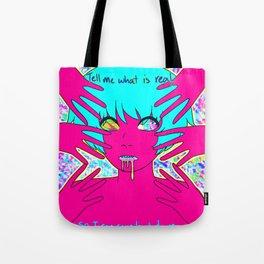 I dream in neon. Tote Bag