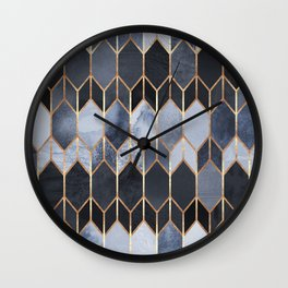 Stained Glass 4 Wall Clock