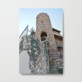 The Professor Marion E. Franklin Castle House, of 1931, No. 3 Metal Print