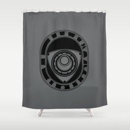 Rotary Shower Curtain