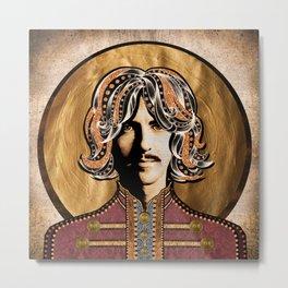 Boho Beatle (George) Metal Print