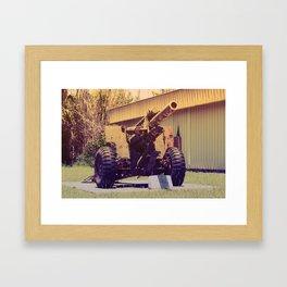 Big gun Framed Art Print