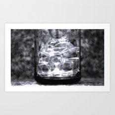 rippled Art Print