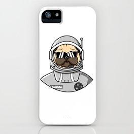 Apollo Dog in Space Suit iPhone Case