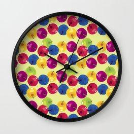 Colorful Berries Wall Clock