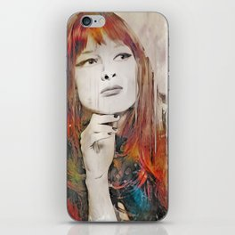 Maybe Portrait iPhone Skin