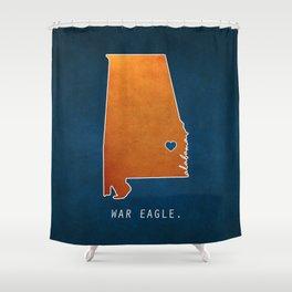 War Eagle Shower Curtain