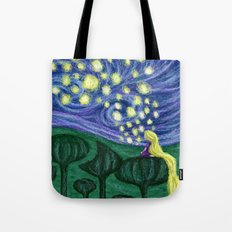 Impressionist Lanterns Tote Bag