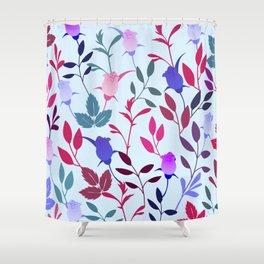 Flower Pattern III Shower Curtain