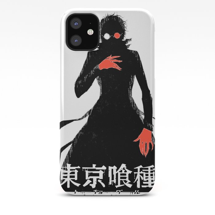Kaneki Ghoul Black Reaper Iphone Case By Franciscopascual Society6