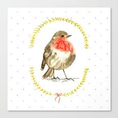 winterbird Canvas Print