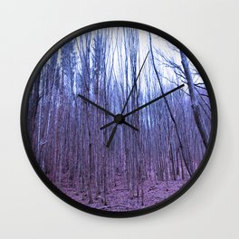 Trees of Olympus Wall Clock