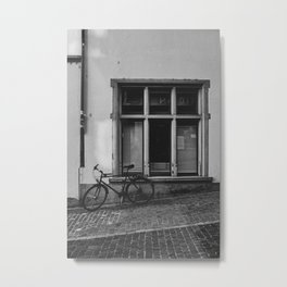 Old town bike Metal Print