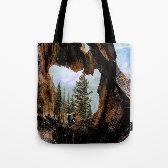 Look Into The Heart Tote Bag