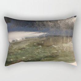 Waters Poetry Rectangular Pillow