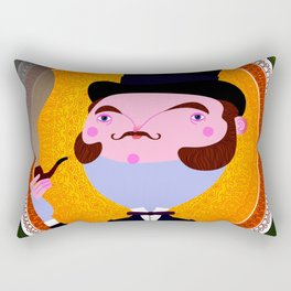 Smoking hot Gent Rectangular Pillow