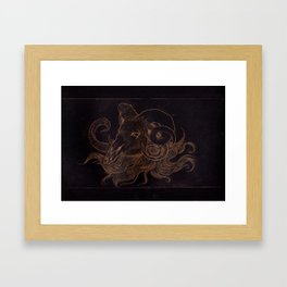 Goat Creep Framed Art Print