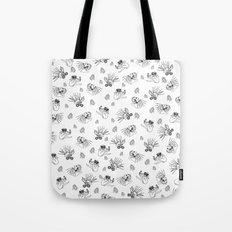 Pet Fish - White print Tote Bag