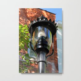 Grand Rapids Lightpost Metal Print