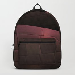 Deep Red architectural abstract of the LA Phil designed by Frank Gehry Backpack