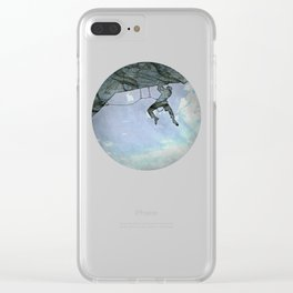 Climb On Clear iPhone Case