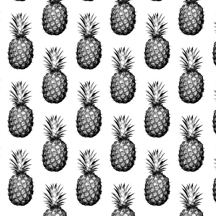 Black & White Pineapple Leggings