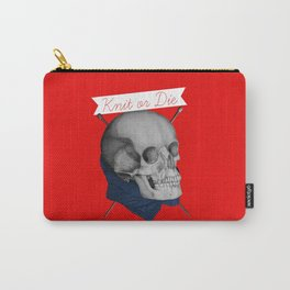 Knit or Die Carry-All Pouch