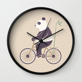 My Bamboo Bicycle Wall Clock