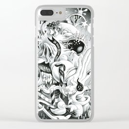Go Crazy Clear iPhone Case