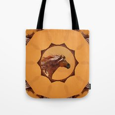HORSE - An Appaloosa called Ginger Tote Bag
