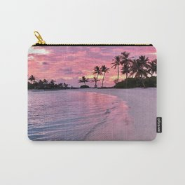 SUNSET AND PALM TREES Carry-All Pouch