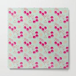 bubblegum cherry Metal Print