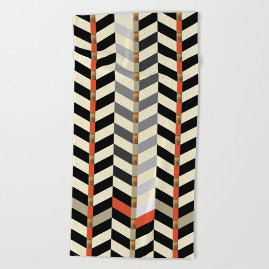 Geometric#29 Beach Towel
