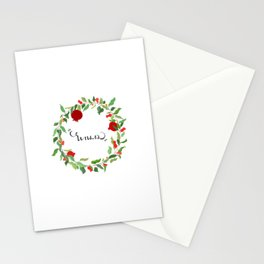 Noor - Pomegranate Stationery Cards