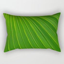 Leaves Abstract Background Rectangular Pillow