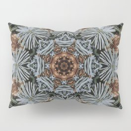 Spruce Cones And Needles Kaleidoscope K4 Pillow Sham