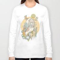 moss Long Sleeve T-shirts featuring moss by Cassidy Rae Marietta