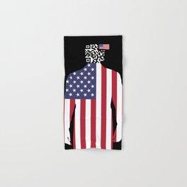 Tracking America Hand & Bath Towel