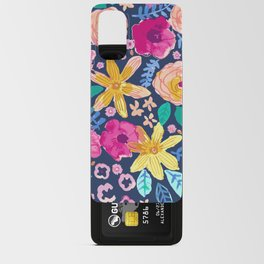 happy flowers Android Card Case